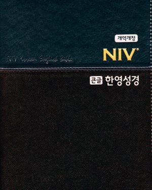 개역개정 NIV 큰글한영성경 대 단본
